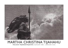 Poster Martha Christina  liggend | ingelijst