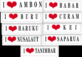 Maluku stickers