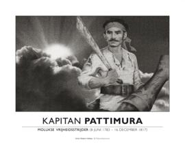 Poster Pattimura liggend | ingelijst