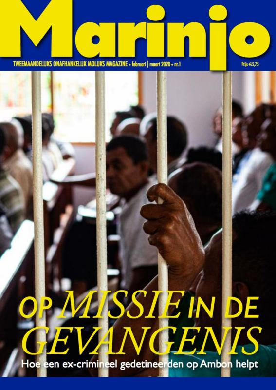 Marinjo magazine nummer 1  van feb 2020 | mrt 2020