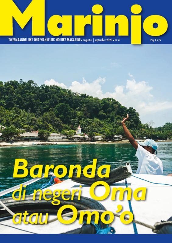 Marinjo magazine nummer 4  van augustus 2020   september 2020