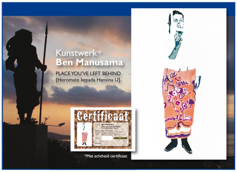 Kunstwerk Ben Manusama