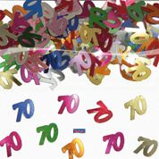 Tafelconfetti - sierconfetti - 70 jaar (05319F)