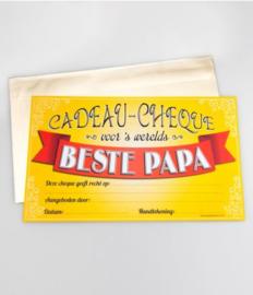 Cadeau-cheque BESTE PAPA (01PD)