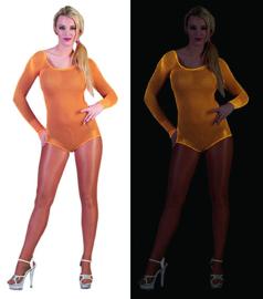 Visnet bodysuit neon Oranje (59346E)