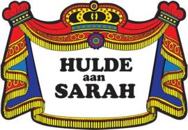 Kroonschild klassiek - Hulde aan Sarah (402119H)