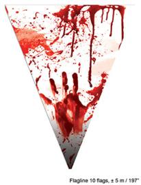 Vlaggenlijn Blood  5 meter (74846E)