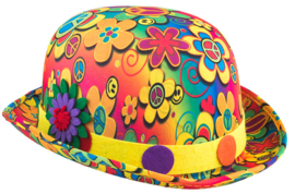 Bolhoed flower power - one size (63634E)