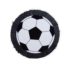 Pinata Voetbal zwart/wit - 50 cm (66437E)