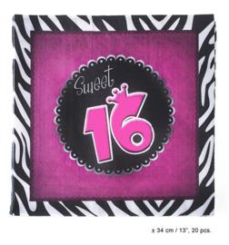 Servetten Sweet 16 (80133E)