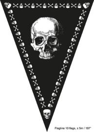 Vlaggenlijn Piraat - 5 meter (50634E)