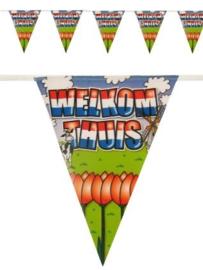 Vlaggenlijn Welkom Thuis - 6 meter (94664P)