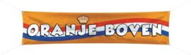Banner / spandoek Oranje Boven -  180 x 40 cm (30687F)