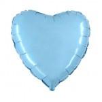 """Folie Hart 18"""" - Baby Blauw"""