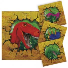 Servetten Dinosaurus (61852F)