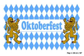 Vlag Oktoberfest -  90 x 150 cm (62373E)