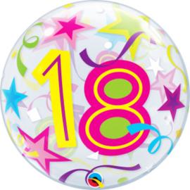 Bubble 18 jaar - Brilliant Stars (24166Q)