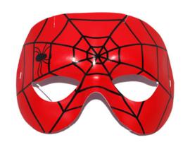 Spiderman masker met elastiek (61455E)