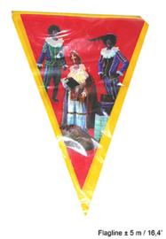 Vlaggenlijn Sint en Piet - 5 meter (64269E)