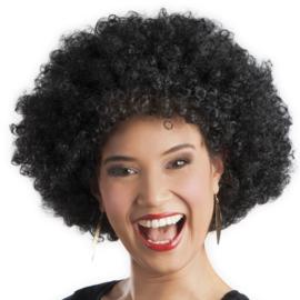 Pruik Afro Zwart (86020B)