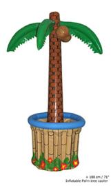 Palmboom + drankcooler opblaasbaar - 170 cm (60444E)