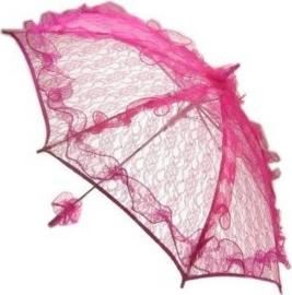 Bydemeyer paraplu roze groot scherm - 97 cm (85304P)