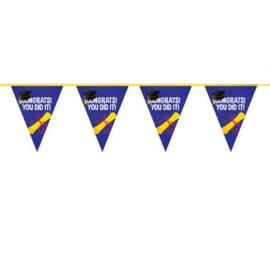 Vlaggenlijn Geslaagd - Congrats! You did it - 6 meter (29447F)
