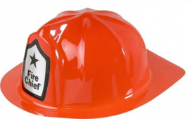 Brandweerhelm Fire Chief kind pvc (21558F)