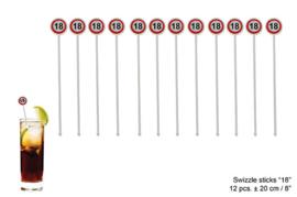 Roerstaafjes verkeersbord 18 jaar (84573E)