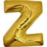 Folie Letter Z - 100 cm Goud