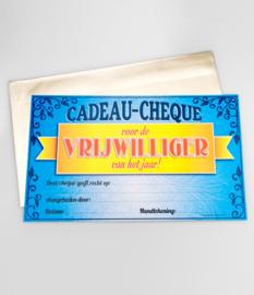 Cadeau-cheque VRIJWILLIGER! (35PD)