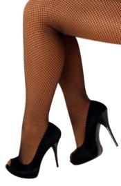 Netpanty Zwart fijne mazen - volwassenen (11064P)