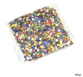Confetti 100 gram multi (84310E)