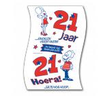 Toiletpapier 21 jaar