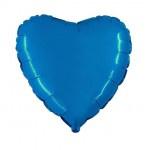 "Folie Hart 18"" - Blauw / Saphire"
