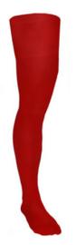 Panty volwassenen ruim Rood (59069E)