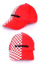 Pet Brabander rood/wit geblokt (75022P)