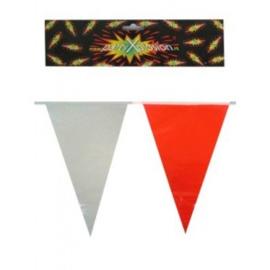 Vlaggenlijn Rood Wit 10 meter (94978P)