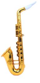 Saxofoon goud - 37 cm (84876P)