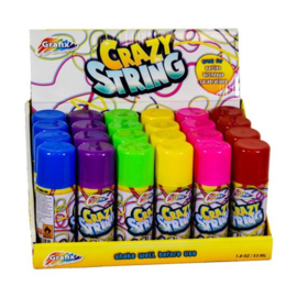 Serpentine spray Crazy String (98627W)