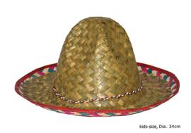 Mexicaanse hoed - sombrero (62116E)