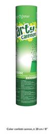 Confetti shooter groen 20 cm (green-66299E)