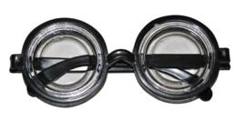 Nerd bril met jampot glazen (60011E)