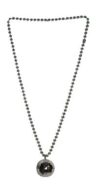 Ketting Discobal Zilver (53722E)