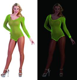 Visnet bodysuit neon Groen (59345E)