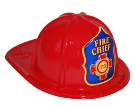 Brandweerhelm Fire Chief kind rood (52288E)