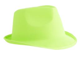 Hoed fluo groen (80183E)