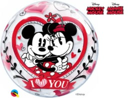 Bubble Mickey & Minnie I Love You (21892Q)