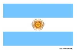 Vlag Argentinië - 90 x 150 cm (62254E)