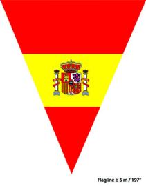 Vlaggenlijn Spanje - 5 meter (62182E)